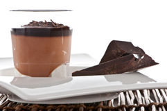 Schokoladennachtisch Stockfotos