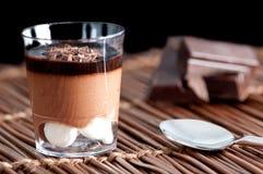 Schokoladennachtisch Stockfotografie
