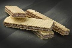 Schokoladenoblate Stockbilder