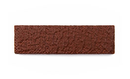Schokoladenoblate stockfoto
