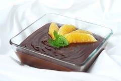 Schokoladenpastete Stockfoto