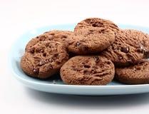 Schokoladenplätzchen. lizenzfreies stockbild