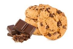 Schokoladenplätzchen Lizenzfreies Stockbild