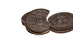 Schokoladenplätzchensüßspeise geschmackvoll lizenzfreie stockfotografie