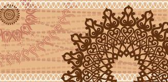 Schokoladenpostkarte Lizenzfreie Stockfotos