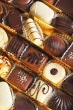 Schokoladenpralinen Stockfoto