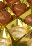 Schokoladensüßigkeit Stockfoto
