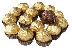 Schokoladensüßigkeit Stockbild