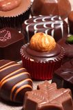 Schokoladensüßigkeiten Stockbilder