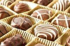 Schokoladensüßigkeitkasten Lizenzfreie Stockfotografie