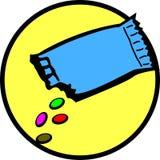 Schokoladensüßigkeitkonfektionsartikel Lizenzfreie Stockfotografie