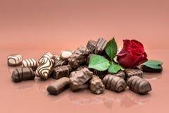Schokoladensammlung Lizenzfreies Stockfoto