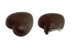 Schokoladenschatz mit lizenzfreies stockfoto