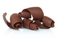 Schokoladenschnitzel lizenzfreies stockbild