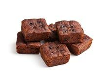 Schokoladenschokoladenkuchennachtisch Lizenzfreies Stockbild