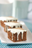 Schokoladenschwammkuchen Lizenzfreie Stockfotografie