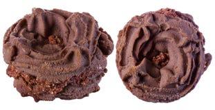 Schokoladensplitterplätzchen, Stockbild