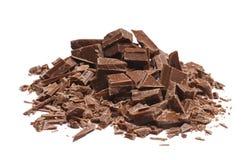 Schokoladenstapel Lizenzfreie Stockbilder