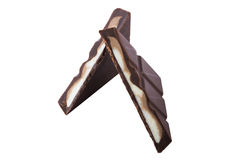 Schokoladenstück Lizenzfreies Stockfoto