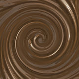 Schokoladenstrudel Lizenzfreie Stockfotos
