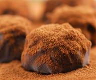 Schokoladentrüffeln Lizenzfreies Stockfoto