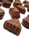 Schokoladentrüffeln Lizenzfreie Stockfotografie