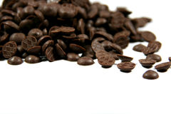 Schokoladentropfen Stockfotos