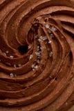 Schokoladenvereisung lizenzfreies stockbild