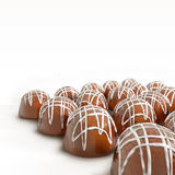 Schokoladenversammlung Stockbild