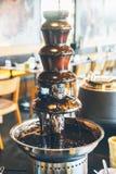 Schokoladenwasser lizenzfreie stockbilder