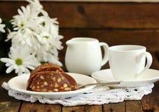 Schokoladenwurst Stockbild