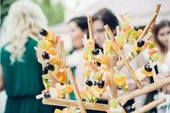 Schokoriegel auf Natur Köstliche Kuchen Stockfoto