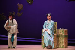 "The scholar and the servant-Kunqu Opera ""the West Chamber"" Stock Images"