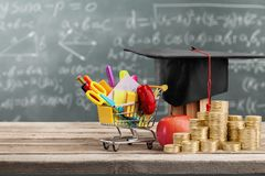 scholarship imagem de stock