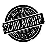 Scholarship rubber stamp Stock Photography