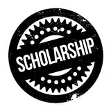 Scholarship rubber stamp Stock Image