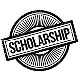 Scholarship rubber stamp Royalty Free Stock Photography