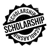 Scholarship rubber stamp Stock Images