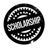 Scholarship rubber stamp Royalty Free Stock Photo