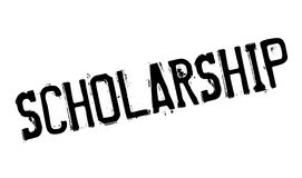 Scholarship rubber stamp Stock Photo