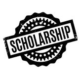 Scholarship rubber stamp Stock Photos