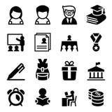 Scholarship , school , high school , University icon Stock Photo