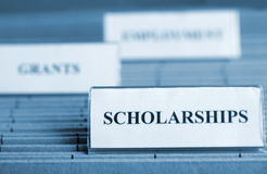Scholarship royalty free stock image