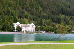 Achensee jezioro przy tirol w austria zdj cie editorial for Design hotel achensee