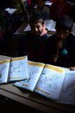Scholl dla syryjskich uchodźców w Turcja Obrazy Royalty Free