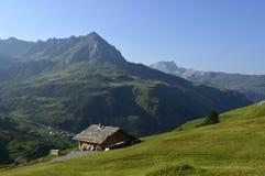 Schollberg above St. Antonien, Graubunden Canton, Switzerland Royalty Free Stock Photos