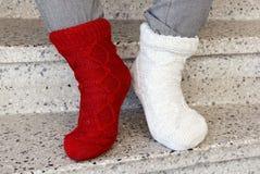 Schommel uw sokken royalty-vrije stock foto