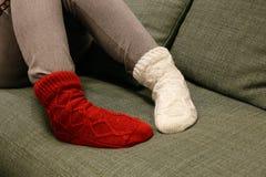 Schommel uw sokken royalty-vrije stock afbeelding