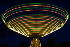 Schommeling in Carnaval. Royalty-vrije Stock Fotografie