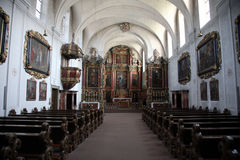 Schonau Abbey Royalty Free Stock Photography